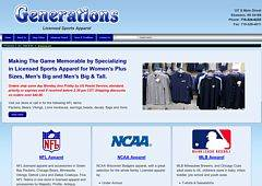 Generations Sports Apparel & Military Items